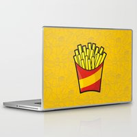 french fries Laptop & iPad Skins featuring French Fries by Sifis