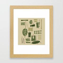 Tafahi Framed Art Print