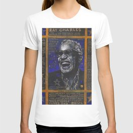 Ray Charles in Blue T-shirt