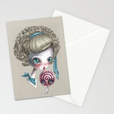 Stop licking me Stationery Cards