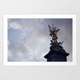 Victoria Memorial Art Print