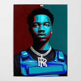 Roddy Ricch Poster