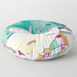 Ship Wreck Floor Pillow