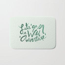 Wild Adventure Type Bath Mat