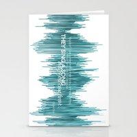 oscar wilde Stationery Cards featuring OSCAR by barbaraGLEN