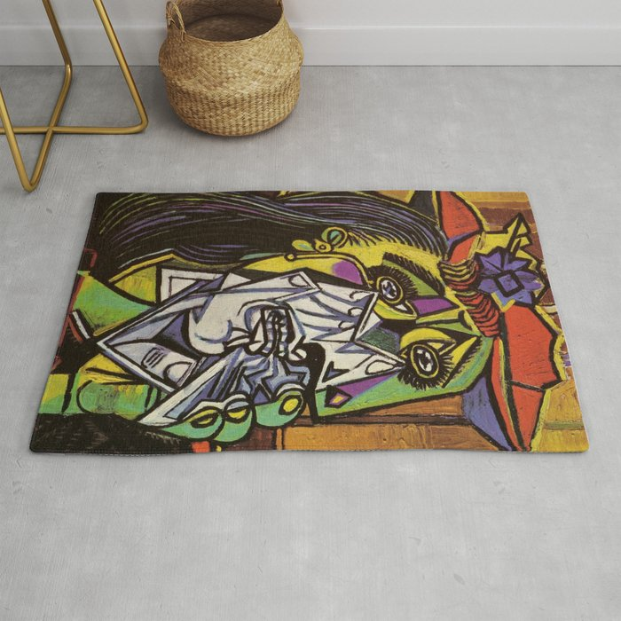 THE WEEPING WOMAN - PICASSO Rug
