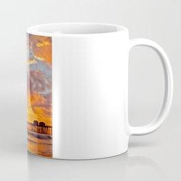 California Dreaming (cropped) ~ Huntington Beach Pier Coffee Mug