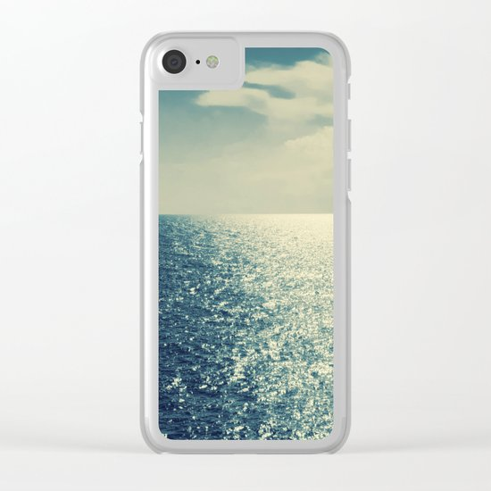 Sea horizon 2 Clear iPhone Case