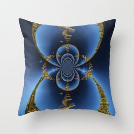 Spiral Stairs to Heaven Throw Pillow