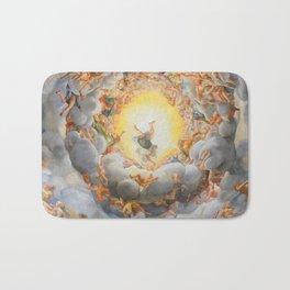 """Antonio Allegri da Correggio """"Cathedral (Parma) - Assumption"""" Bath Mat"""