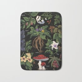 Poison Plants Bath Mat