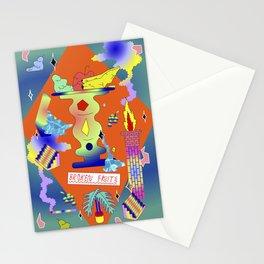 Broken Fruits Stationery Cards