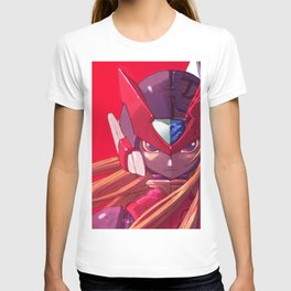 Megaman Red Zero T-shirt
