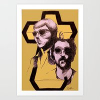 justice Art Prints featuring Justice by The Chao man