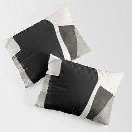 garden in winter abstract art Pillow Sham