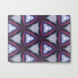 Abstract pattern made from light reflecting in water Metal Print