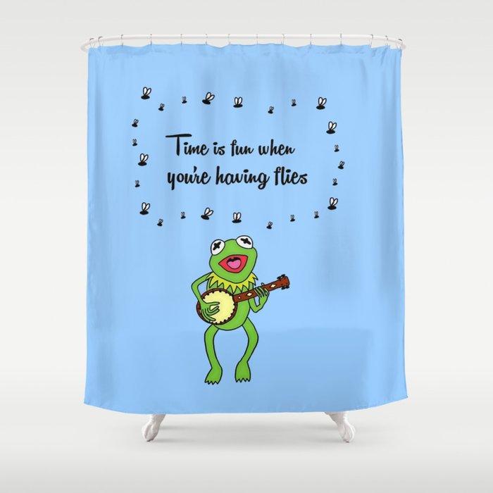 Kermit having fun Shower Curtain by blackblizzard | Society6