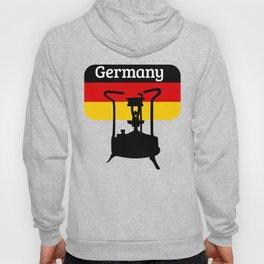 Pressure Stove with German Flag Hoody