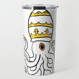Squid Pope Travel Mug