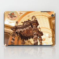 montreal iPad Cases featuring Montreal Basilica by Nicolas Raymond