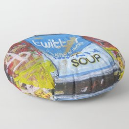 Wrath Soup Preserves Floor Pillow