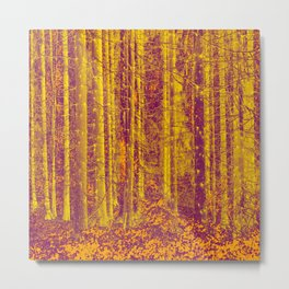 In the middle of the forest #decor #society6 Metal Print