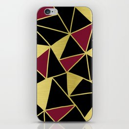 Golden Triangles iPhone Skin