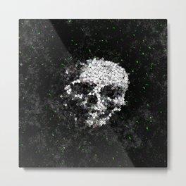 Death Shuffle Metal Print