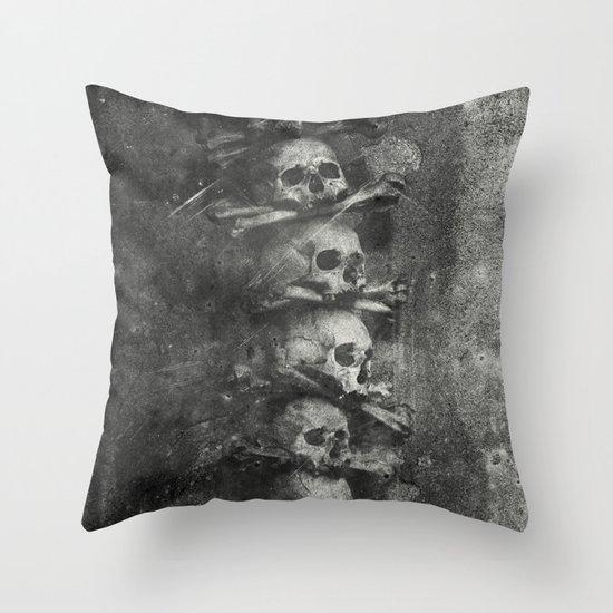 Once Were Warriors III. Throw Pillow