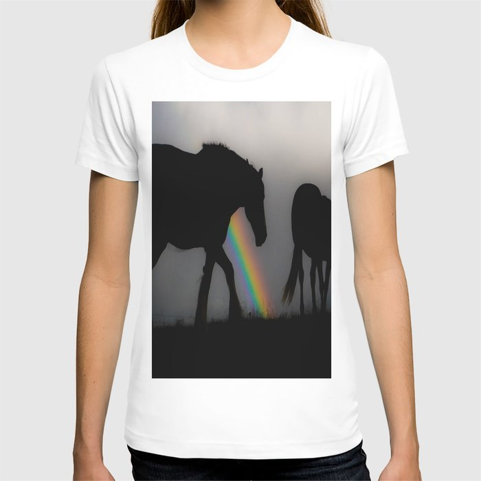 Silhouette of Color T-shirt