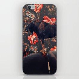 Frolal moose iPhone Skin