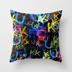 The Most Colorful Throw Pillow