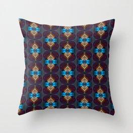 Royal Blue 1 Throw Pillow