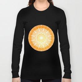 Sunset mandala Long Sleeve T-shirt