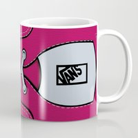 vans Mugs featuring Pink Vans shoes iPhone 4 4s 5 5s 5c, ipod, ipad, pillow case and tshirt by Three Second