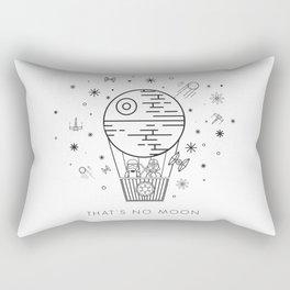 That's No Moon Death Star Hot Air Balloon Storm Tr Rectangular Pillow