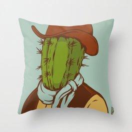 Sheriff Prickly Throw Pillow