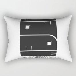 1923 GERMAN WEIMAR BAUHAUS ART EXHIBITION AUSSTELLUNG V.2 A3 POSTER RE PRINT Rectangular Pillow