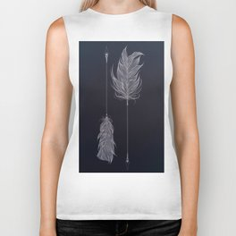 ..and then whats left is your arrow. Biker Tank