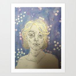 Katie Art Print