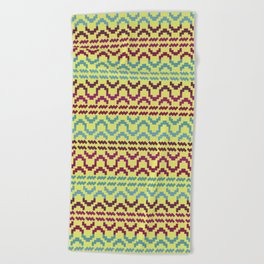AZTEC Pattern 1-2 Beach Towel