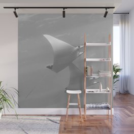 Rising with the mobula rays Wall Mural