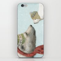 jon snow iPhone & iPod Skins featuring First Winter by Eric Fan