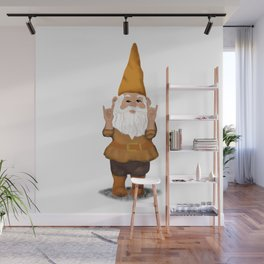 Hangin with my Gnomies - Devil' Horns / Rock On Wall Mural