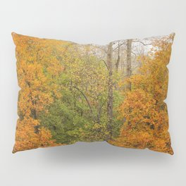 Leaning Into Autumn Pillow Sham