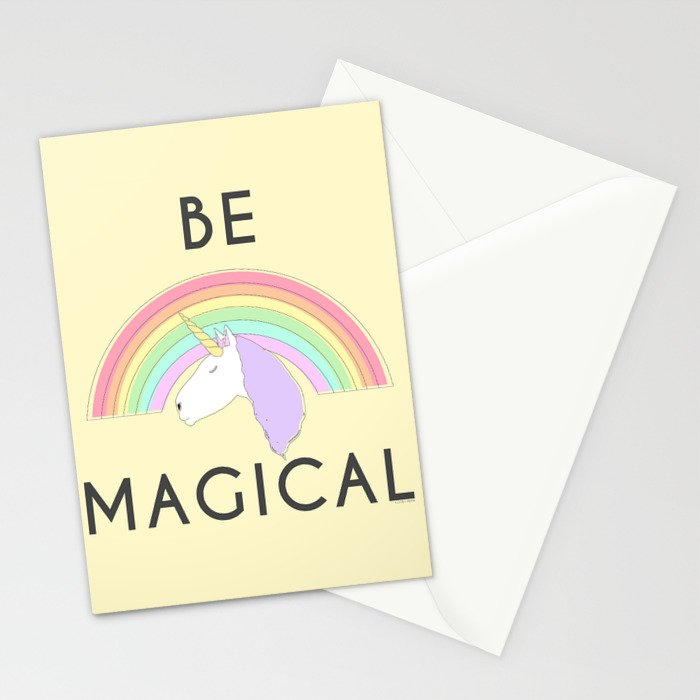 Be Magical Stationery Cards
