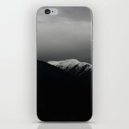 Don't stop / mountain photo art print / mountain poster iPhone Skin