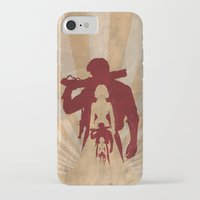 bioshock infinite iPhone & iPod Cases featuring Bioshock Infinite - Booker and Elizabeth by Art of Peach