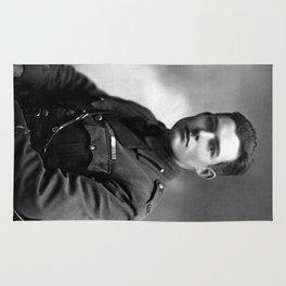Ernest Hemingway in Uniform, 1918 Rug