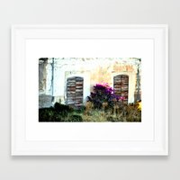 doors Framed Art Prints featuring doors by  Agostino Lo Coco